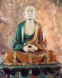 Kineska statua arahata, Tang dinastija.